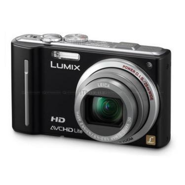Цифровой фотоаппарат PANASONIC Lumix  DMC-TZ10 black Фото 1