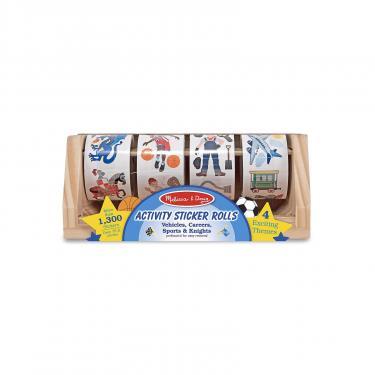 Набор для творчества Melissa&Doug наклейки на ролике для мальчиков, 1300 шт. Фото