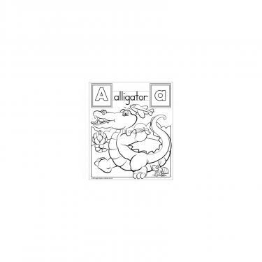"""Набор для творчества Melissa&Doug Гигантская раскраска """"Алфавит"""" Фото 1"""
