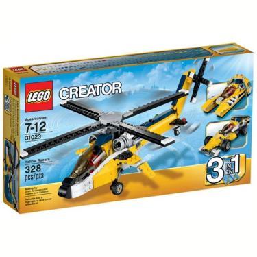 Конструктор LEGO Желтые гоночные автомобили Фото 1