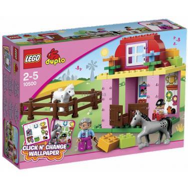 Конструктор LEGO Конюшня Фото 1