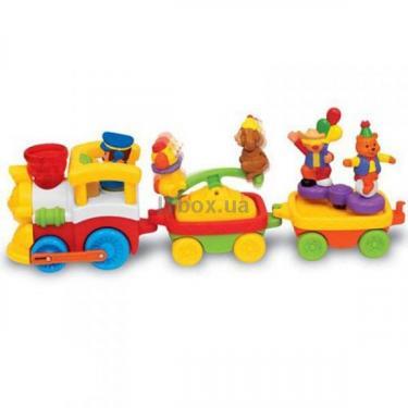 Развивающая игрушка Kiddieland Железная дорога Фото 1