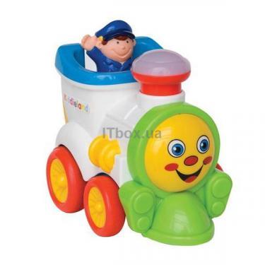 Развивающая игрушка Kiddieland Веселый паровозик Фото