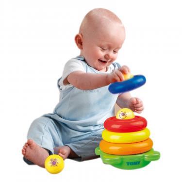Развивающая игрушка Tomy Забавная пирамидка Фото 2