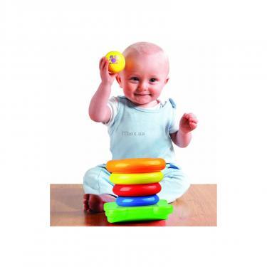 Развивающая игрушка Tomy Забавная пирамидка Фото 3
