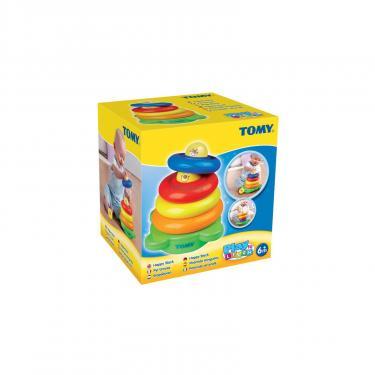 Развивающая игрушка Tomy Забавная пирамидка Фото 4