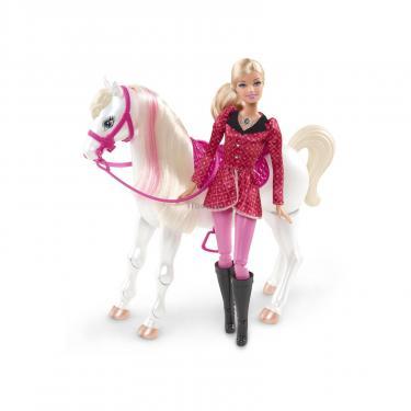 Кукла BARBIE с коньком Фото 1