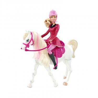 Кукла BARBIE с коньком Фото 2
