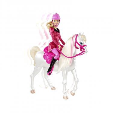 Кукла BARBIE с коньком Фото 3