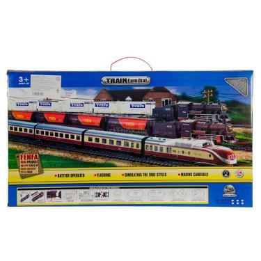 Железная дорога FENFA Паровоз с цистернами Фото 4