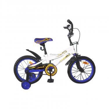 Детский велосипед Miracolo 16K147-WHITEwithBlue Фото