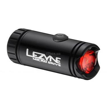 Фонарь велосипедный Lezyne LED MICRO DRIVE REAR черный Фото 1