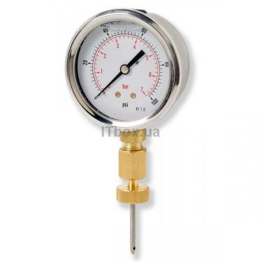 Велосипедный насос Point Pressure meter Фото
