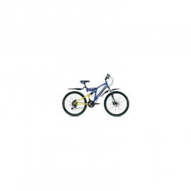 """Велосипед Premier Legion Disc 18"""" желто-голубой с бело-красным Фото 1"""
