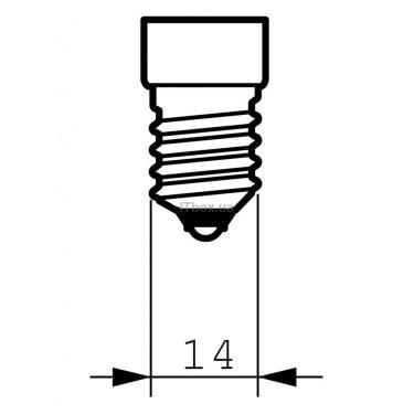 Лампочка PHILIPS E14 25W 230V NR50 30D 1CT/30 Refl Фото 1