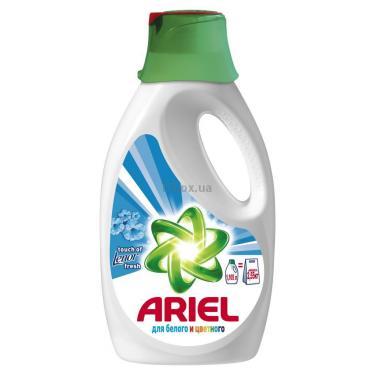 Жидкий порошок Ariel Touch of Lenor Fresh 1,105л = 2,55 кг Фото 1