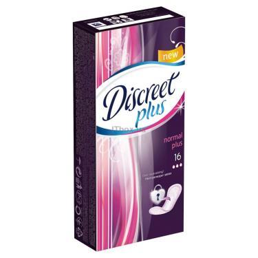 Ежедневные прокладки Discreet Normal Plus 16 шт Фото