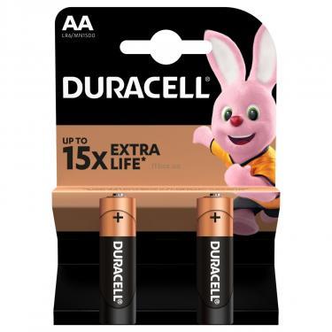 Батарейка Duracell AA MN1500 LR06 * 2 Фото 2