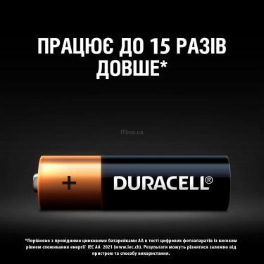 Батарейка Duracell AA MN1500 LR06 * 2 Фото 4