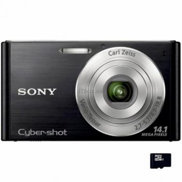 Цифровой фотоаппарат SONY Cybershot DSC-W320 black Фото 1