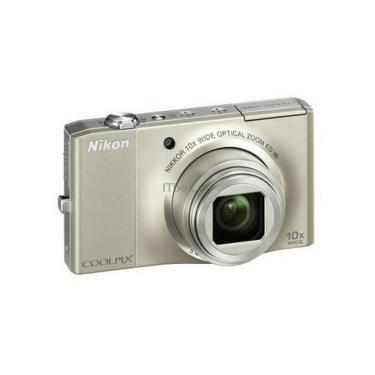Цифровой фотоаппарат Nikon Coolpix S8000 silver Фото 1