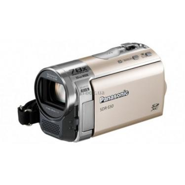 Цифровая видеокамера PANASONIC SDR-S50EE-N gold Фото 1