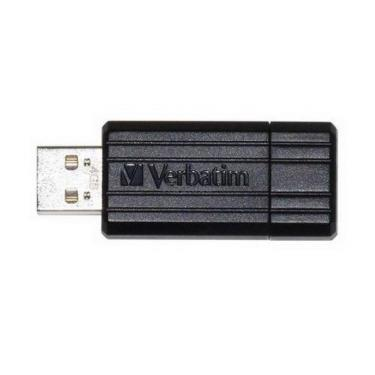 USB флеш накопитель Verbatim 4Gb Store'n'Go PinStripe black Фото 1