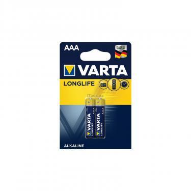 Батарейка Varta AAA Varta Longlife Extra * 2 Фото 1