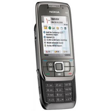 Мобильный телефон Nokia E66 grey steel Фото 1