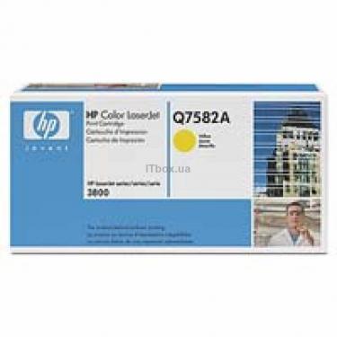 Картридж HP CLJ 3800 series/ Yellow Фото 1