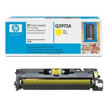 Картридж HP CLJ   123A для 2550 (2K) yellow Фото 1