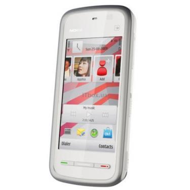 Мобильный телефон Nokia 5230 White Red Фото 1