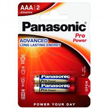 Батарейка PANASONIC LR03 Pro Power * 2 Фото 1