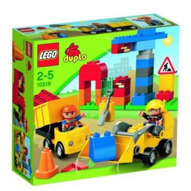 Конструктор LEGO Моя первая строительная площадка Фото 1