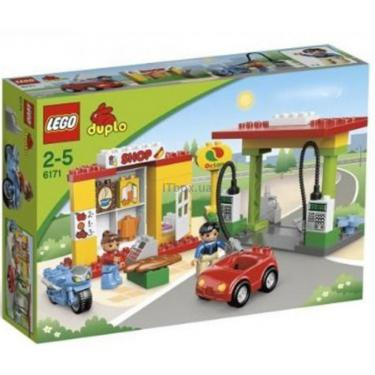 Конструктор LEGO Заправочная станция Фото 1