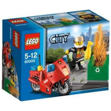 Конструктор LEGO Пожарный мотоцикл Фото 1