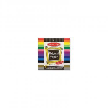 Набор для творчества Melissa&Doug Цветная бумага для оригами, 15,3х15,3 см Фото
