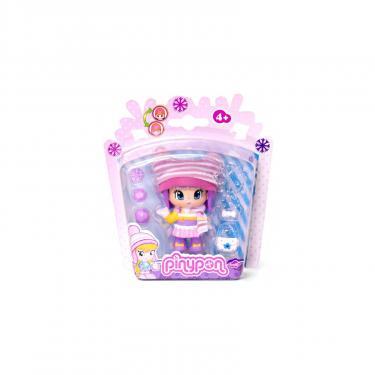 Кукла Pinypon в зимней одежде с полосатым шарфом Фото 1
