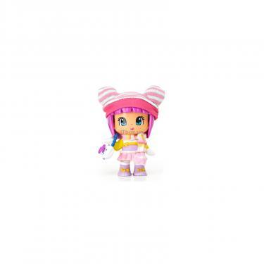 Кукла Pinypon в зимней одежде с полосатым шарфом Фото