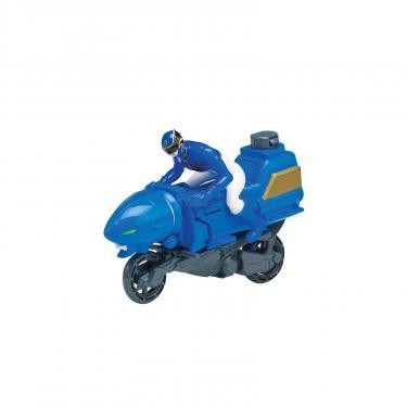 Фигурка Power Rangers Транспорт Hyper Cycle и Синий рейнджер Фото