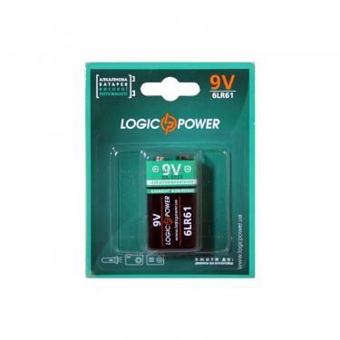 Батарейка LogicPower Крона 6LR61 * 1 Фото