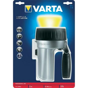 Фонарь Varta Rechargeable NiMH Akku LED 4 WATT Фото