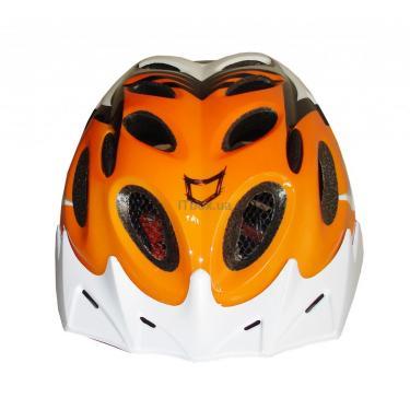 Шлем CatLike diablo tricolor naranja md Фото 1