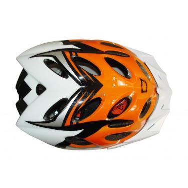 Шлем CatLike diablo tricolor naranja md Фото 2