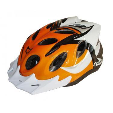 Шлем CatLike diablo tricolor naranja md Фото