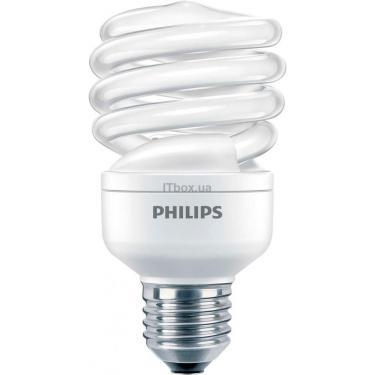 Лампочка PHILIPS E27 20W 220-240V WW 1PF/6 Econ Twister Фото