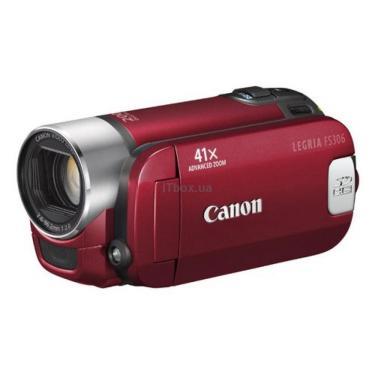 Цифровая видеокамера Canon Legria FS306 red Фото 1