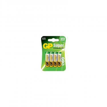 Батарейка GP AA LR6 Super Alcaline * 4 Фото 1
