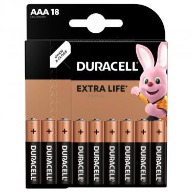 Батарейка Duracell LR03 * 18 Фото 1