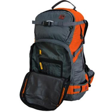 Рюкзак Terra Incognita Snow-Tech 30  orange / gray Фото 3